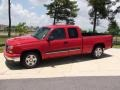 2006 Victory Red Chevrolet Silverado 1500 LS Extended Cab  photo #12