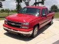 2006 Victory Red Chevrolet Silverado 1500 LS Extended Cab  photo #13