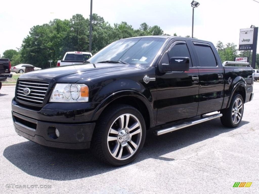 Black 2007 Ford F150 Harley-Davidson SuperCrew Exterior ...