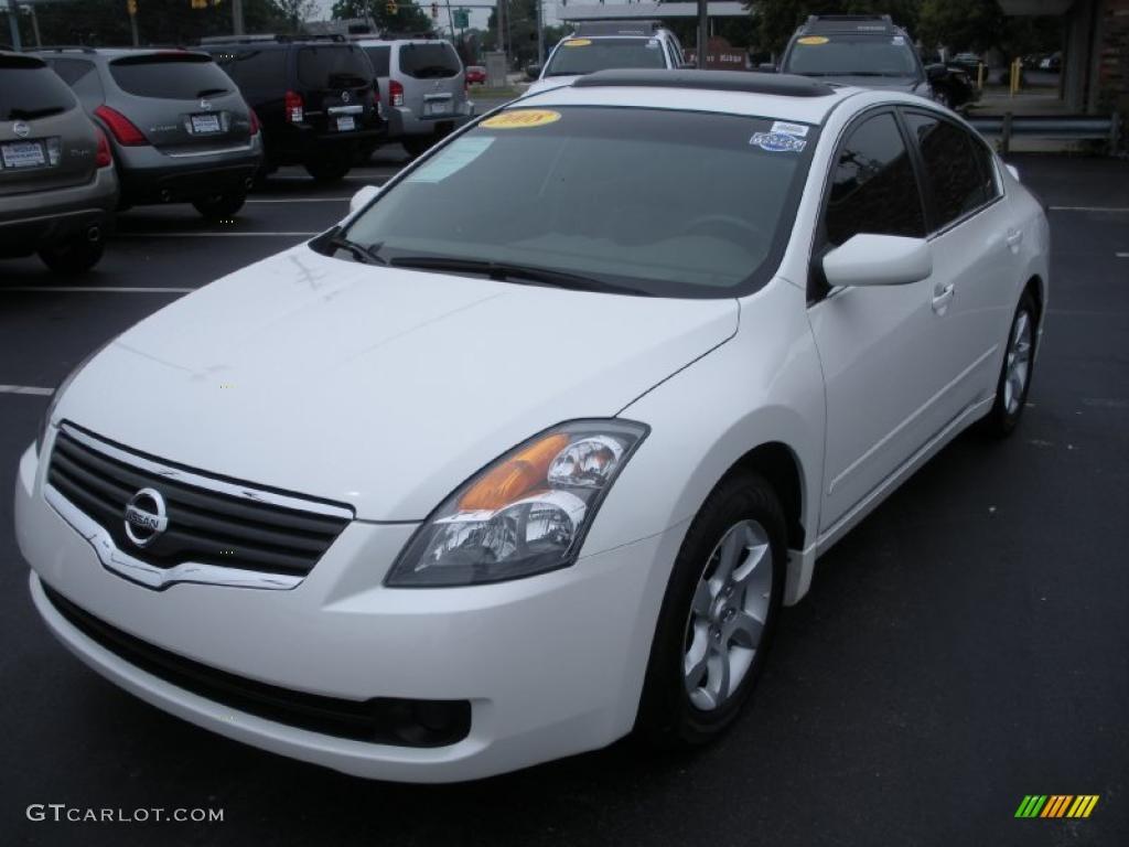 2008 Winter Frost Pearl Nissan Altima 2 5 Sl 32898505 Gtcarlot Com Car Color Galleries