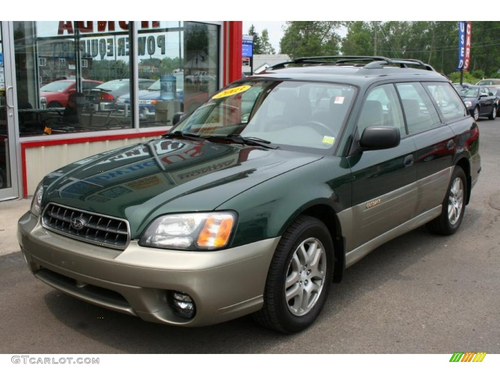2003 timberline green pearl subaru outback wagon 32899003 2003 outback wagon timberline green pearl beige photo 1 vanachro Image collections