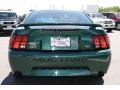 2001 Dark Highland Green Ford Mustang GT Coupe  photo #3