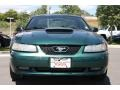 2001 Dark Highland Green Ford Mustang GT Coupe  photo #6