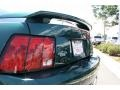 2001 Dark Highland Green Ford Mustang GT Coupe  photo #27