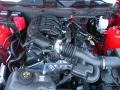 2011 Race Red Ford Mustang V6 Coupe  photo #12