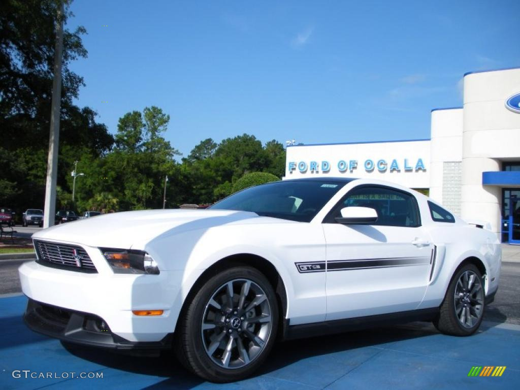 2011 Performance White Ford Mustang GT/CS California Special Coupe ...