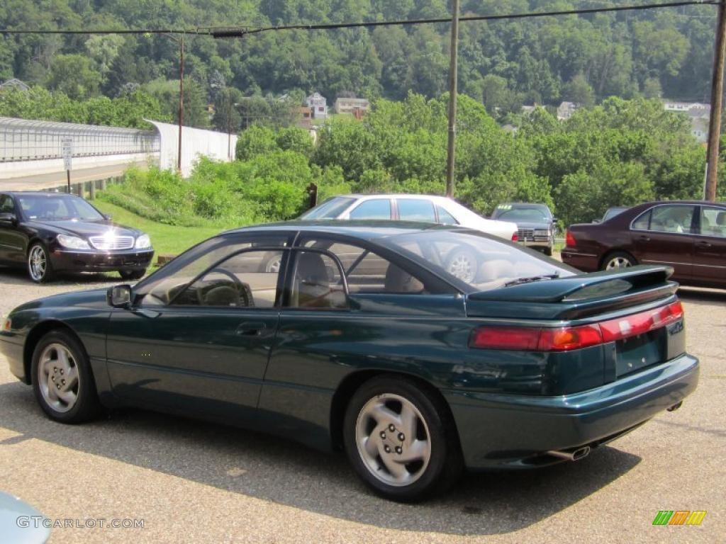 1994 svx lsi awd coupe emerald green pearl tan photo 8