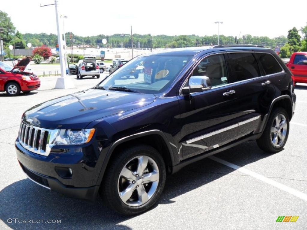 2011 Grand Cherokee Limited   Blackberry Pearl / Black/Light Frost Beige  Photo #1