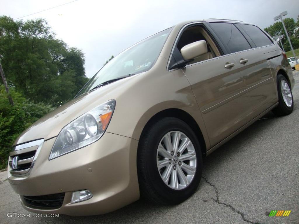 Automotive Paint Colors >> 2005 Desert Rock Metallic Honda Odyssey Touring #32965489 ...