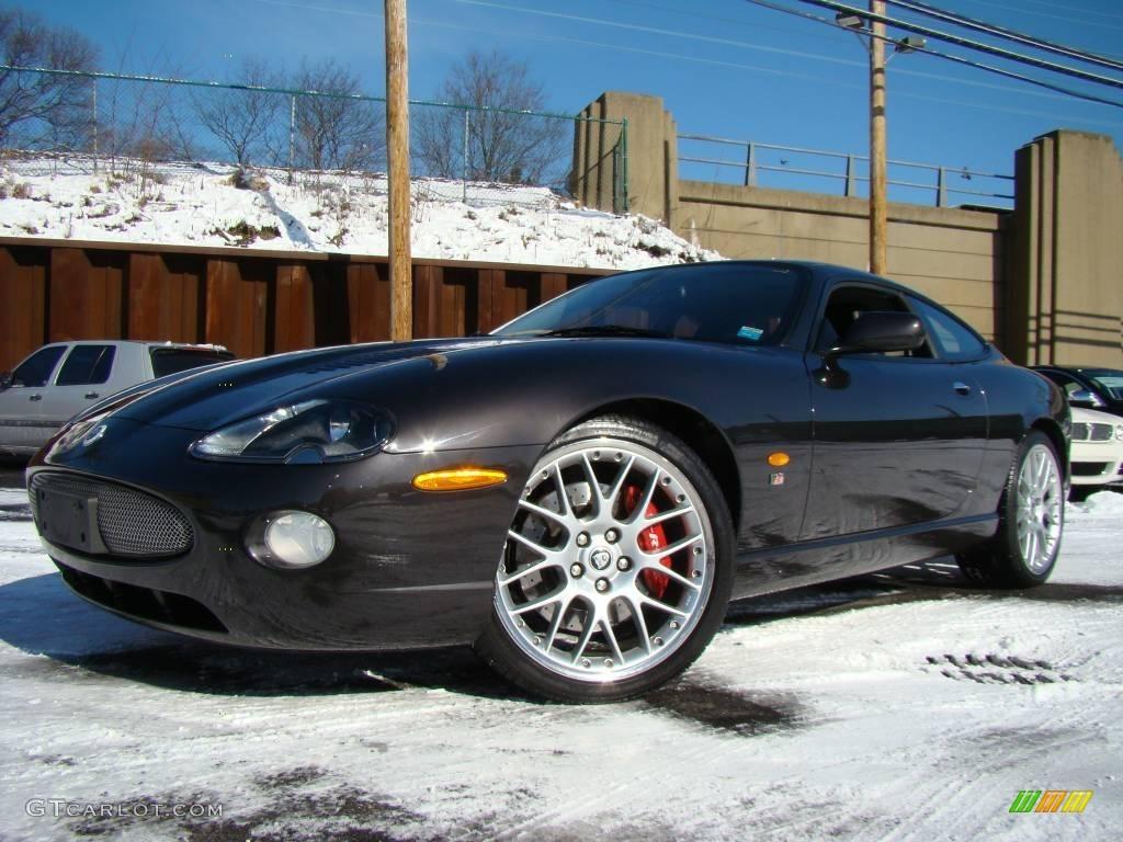 Copper black jaguar xk
