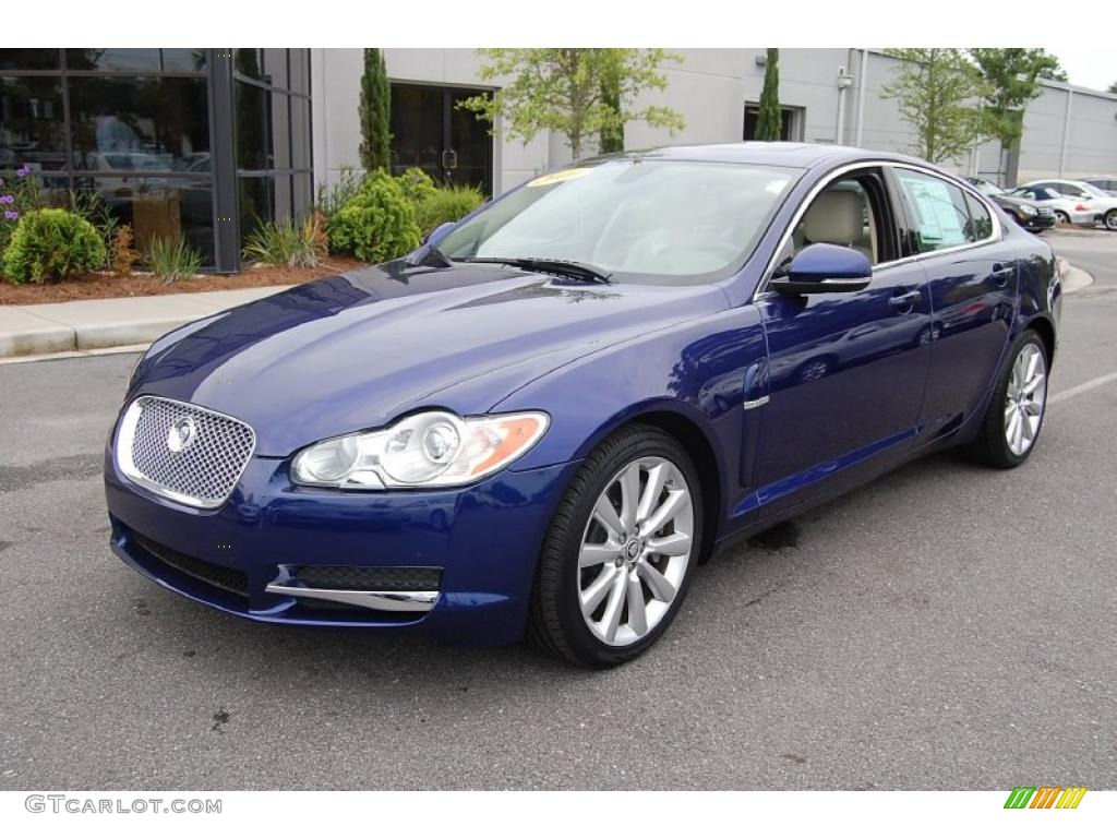 2010 spectrum blue metallic jaguar xf premium sport sedan 32966194 photo 14. Black Bedroom Furniture Sets. Home Design Ideas