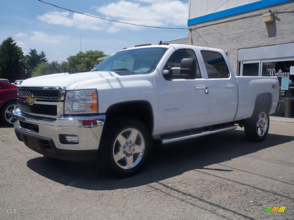 2011 Summit White Chevrolet Silverado 2500hd Ltz Crew Cab