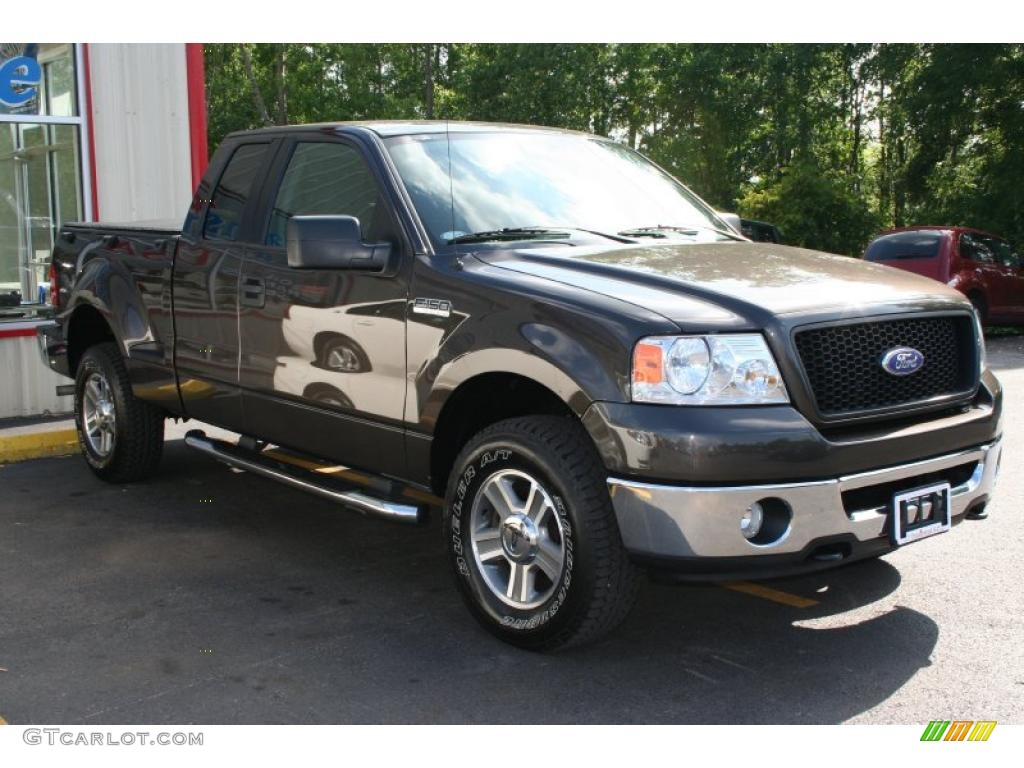 2006 dark stone metallic ford f150 xlt supercab 4x4. Black Bedroom Furniture Sets. Home Design Ideas