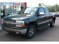 2002 Forest Green Metallic Chevrolet Silverado 1500 LS Extended Cab  photo #1