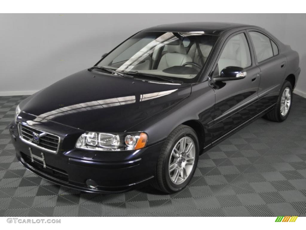 2008 magic blue metallic volvo s60 2 5t awd 32966735. Black Bedroom Furniture Sets. Home Design Ideas