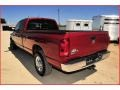 2008 Inferno Red Crystal Pearl Dodge Ram 3500 Big Horn Edition Quad Cab  photo #3