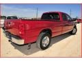 2008 Inferno Red Crystal Pearl Dodge Ram 3500 Big Horn Edition Quad Cab  photo #7