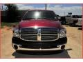 2008 Inferno Red Crystal Pearl Dodge Ram 3500 Big Horn Edition Quad Cab  photo #11