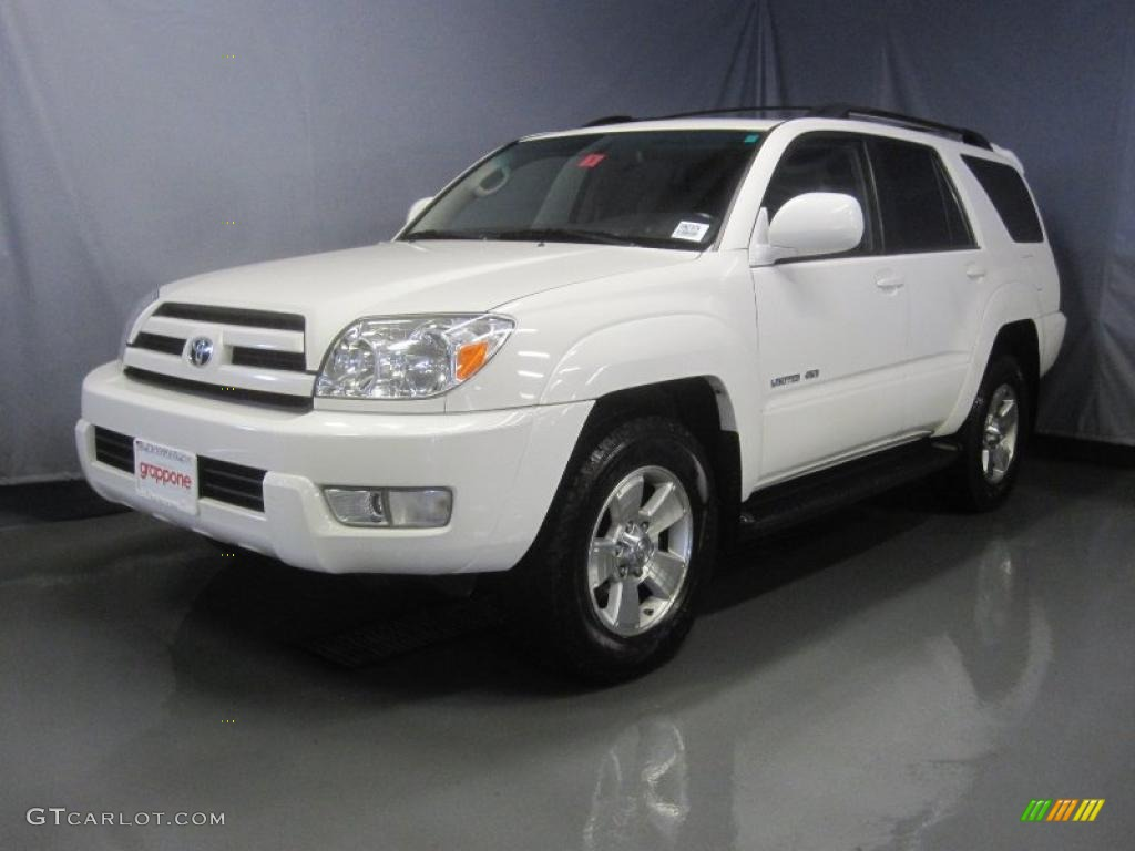 2005 Natural White Toyota 4runner Limited 4x4 32966125