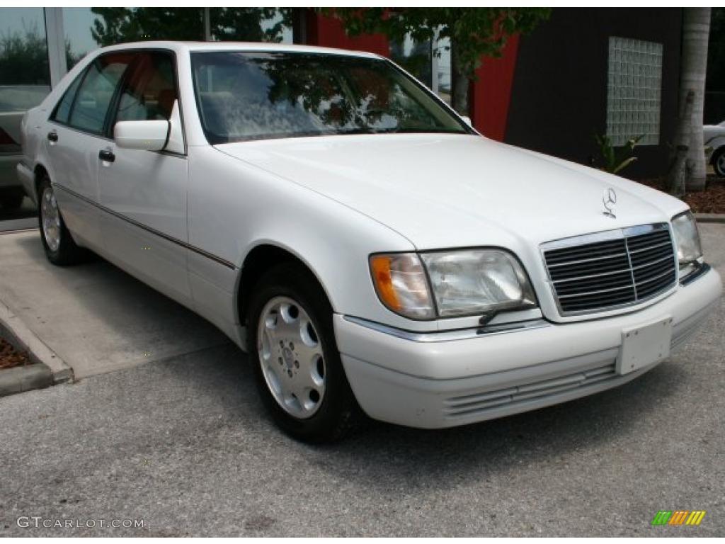 1996 polar white mercedes benz s 320 sedan 32966775 photo for Mercedes benz polar white paint