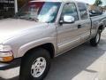 2000 Light Pewter Metallic Chevrolet Silverado 1500 LT Extended Cab 4x4  photo #7