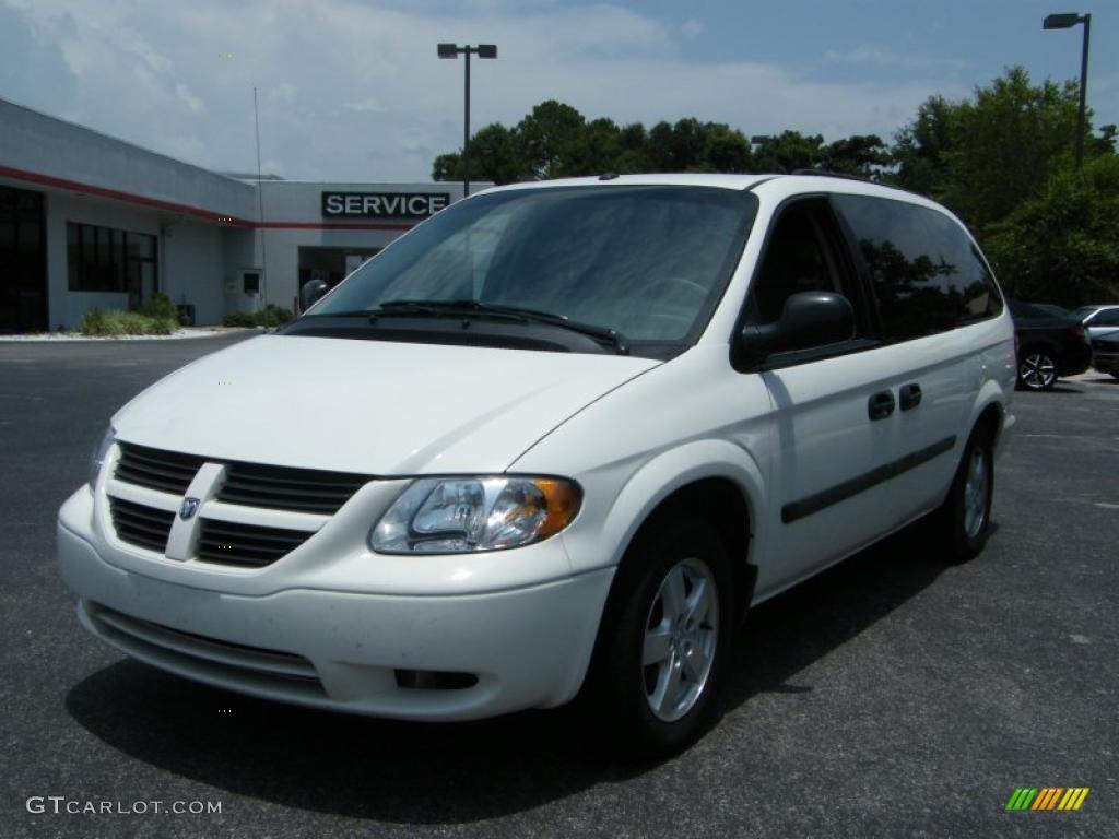2006 Stone White Dodge Grand Caravan Se 33081165