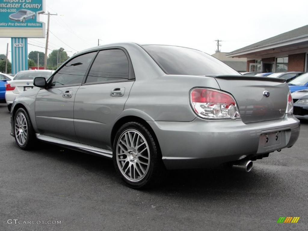 Urban gray metallic 2007 subaru impreza wrx sti limited exterior photo 33096977