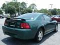 2001 Dark Highland Green Ford Mustang V6 Coupe  photo #5
