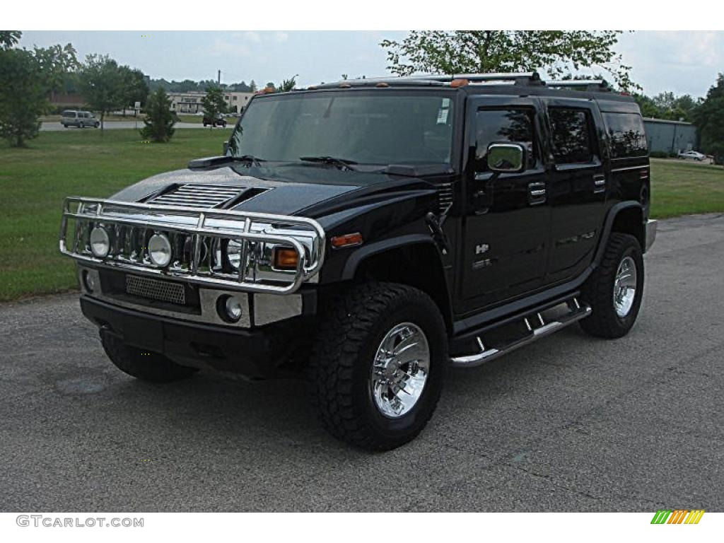 black hummer h2 cars - photo #43