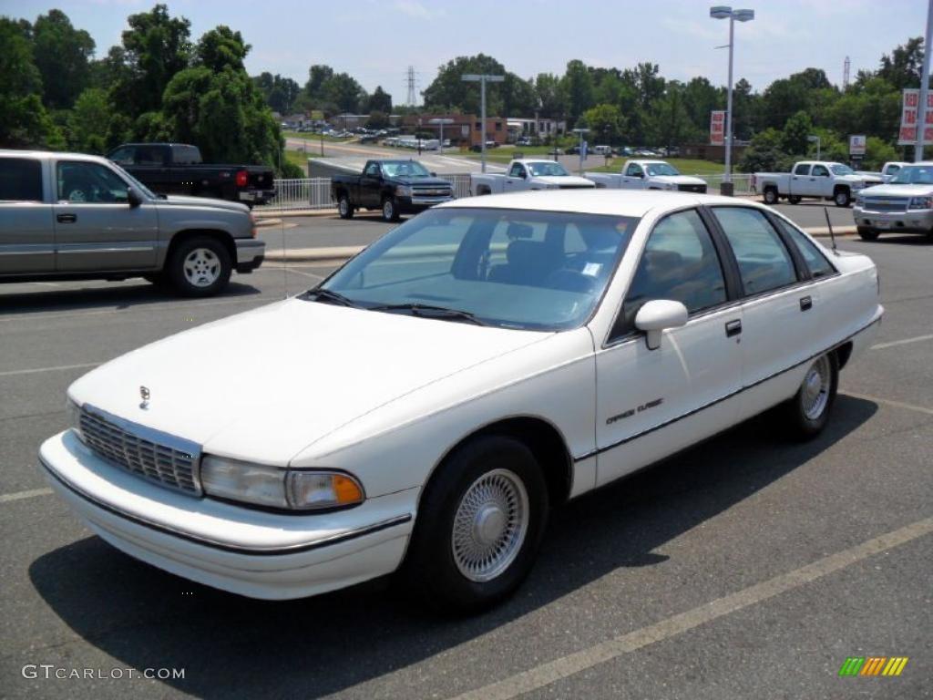White Chevrolet Caprice