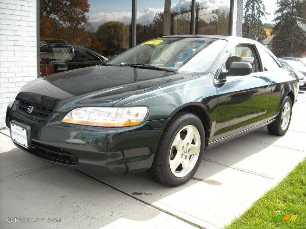 1999 dark emerald pearl honda accord ex v6 coupe 3312001 car color galleries. Black Bedroom Furniture Sets. Home Design Ideas