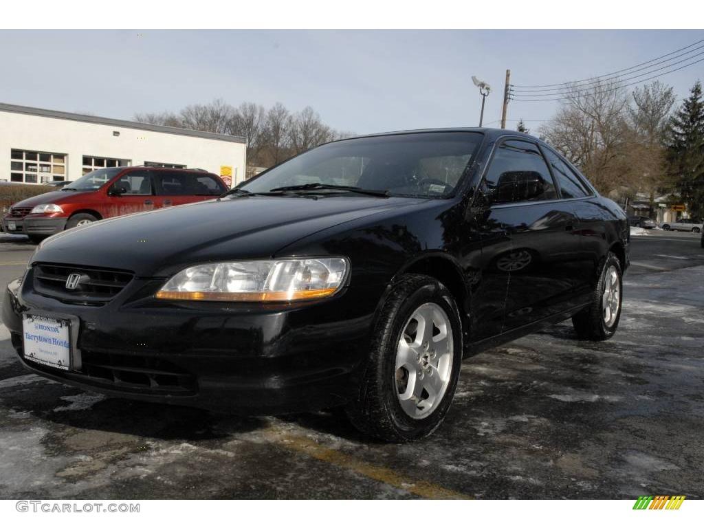 2000 Nighthawk Black Pearl Honda Accord EX V6 Coupe ...