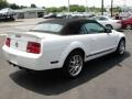 2007 Performance White Ford Mustang Shelby GT500 Convertible  photo #4