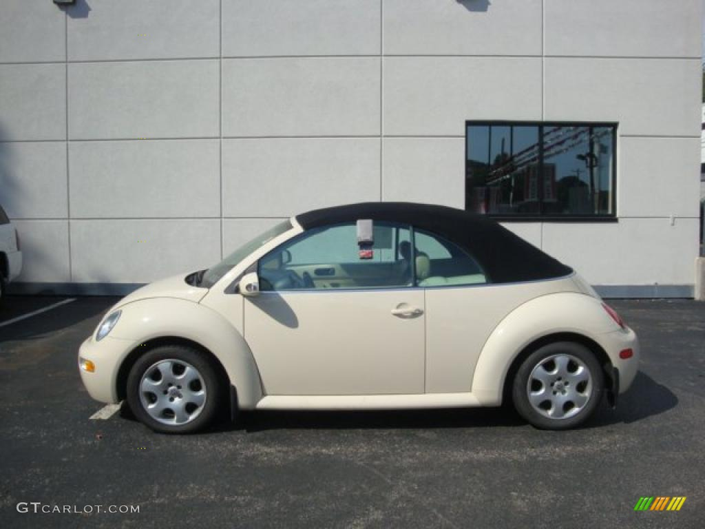 VW 2003 vw bug : 2003 Harvest Moon Beige Volkswagen New Beetle GLS Convertible ...