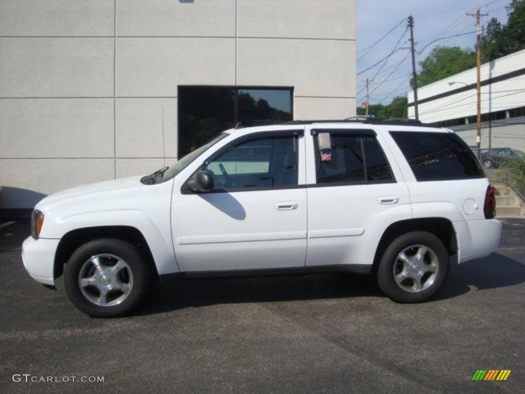d6b03082da 2008 Summit White Chevrolet TrailBlazer LT 4x4  33146882