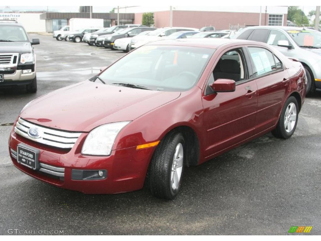 2007 merlot metallic ford fusion se v6 awd 33182068. Black Bedroom Furniture Sets. Home Design Ideas