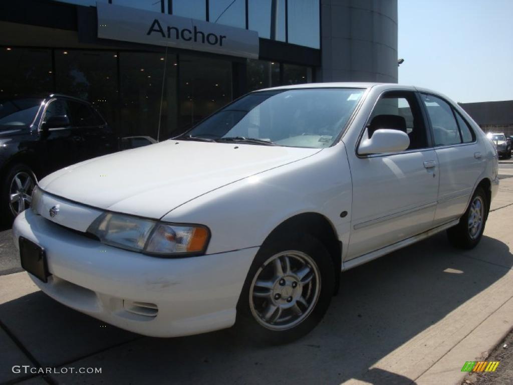 1999 cloud white nissan sentra gxe #33189198 | gtcarlot - car