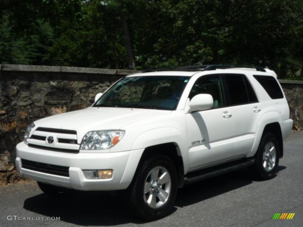 2005 Natural White Toyota 4runner Limited 4x4 33189051 Gtcarlot Com Car Color Galleries