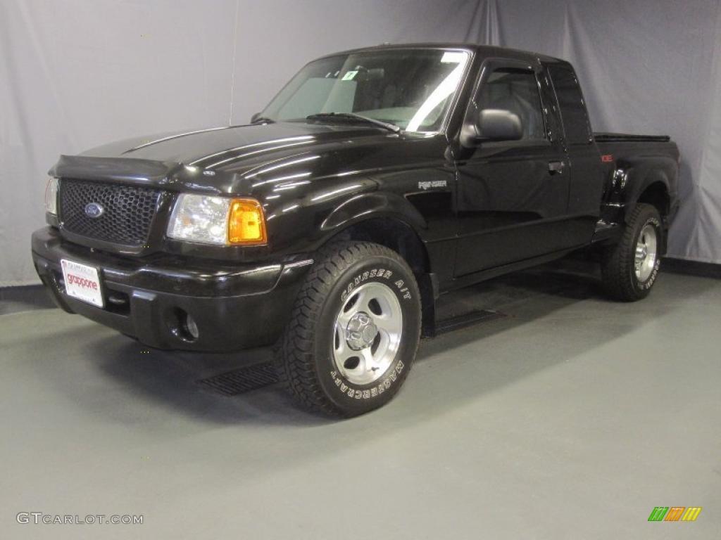 Black clearcoat ford ranger