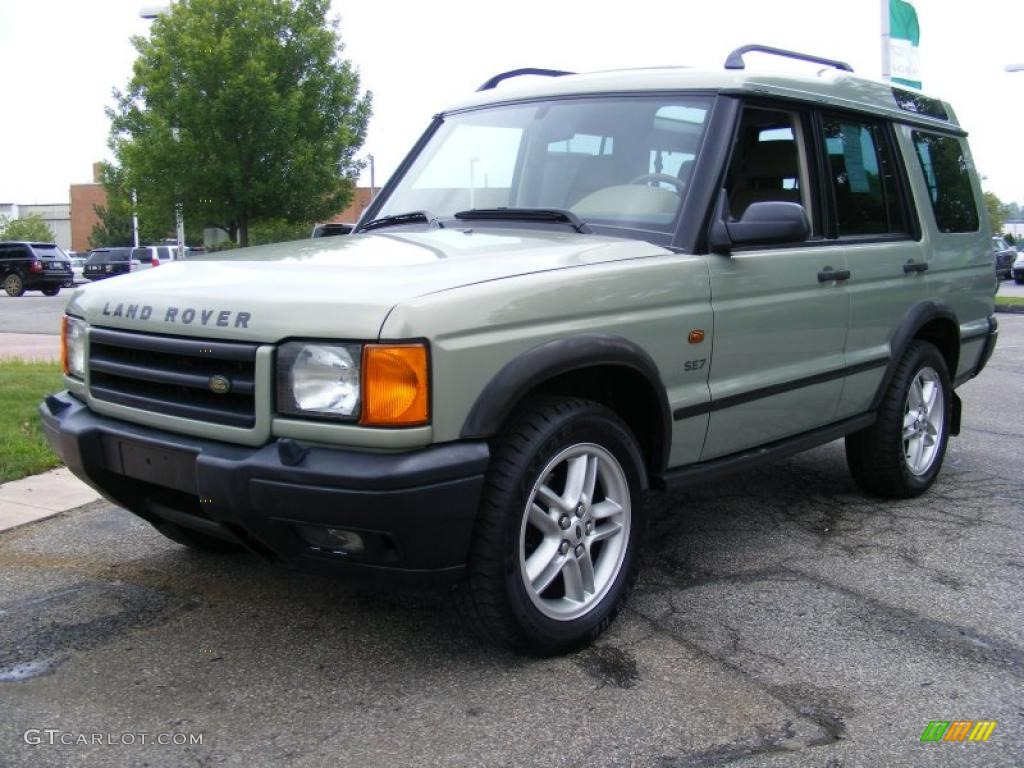 Vienna green pearl land rover discovery ii