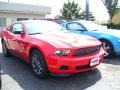2011 Race Red Ford Mustang V6 Premium Coupe  photo #3