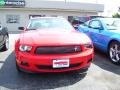 2011 Race Red Ford Mustang V6 Premium Coupe  photo #6