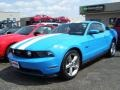 2011 Grabber Blue Ford Mustang GT Premium Coupe  photo #1
