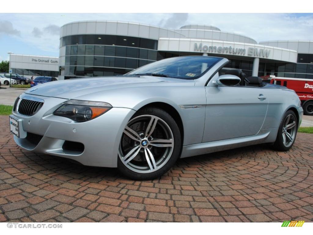 2007 Silverstone Silver Metallic BMW M6 Convertible #33189381 ...