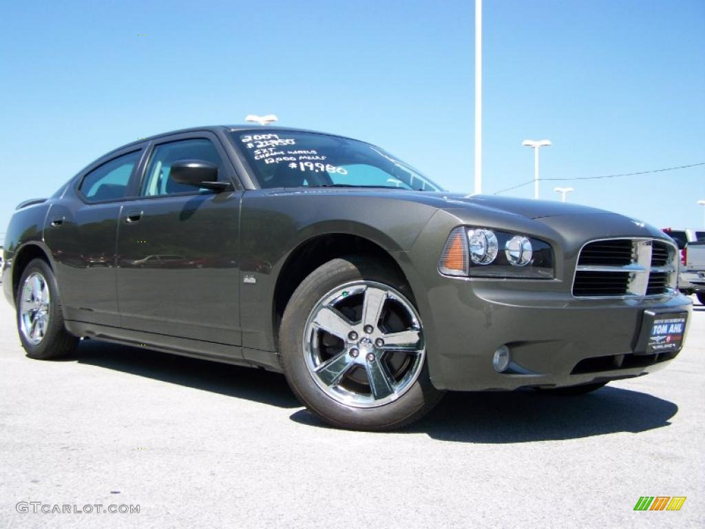 2009 dark titanium metallic dodge charger sxt 33188933. Black Bedroom Furniture Sets. Home Design Ideas