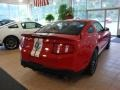 2011 Race Red Ford Mustang Shelby GT500 SVT Performance Package Coupe  photo #3