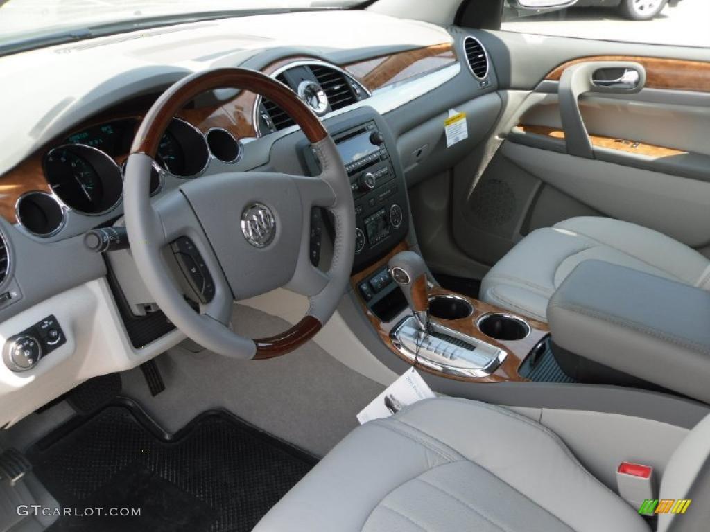 2011 Silver Green Metallic Buick Enclave Cxl 33236962 Photo 28 Car Color