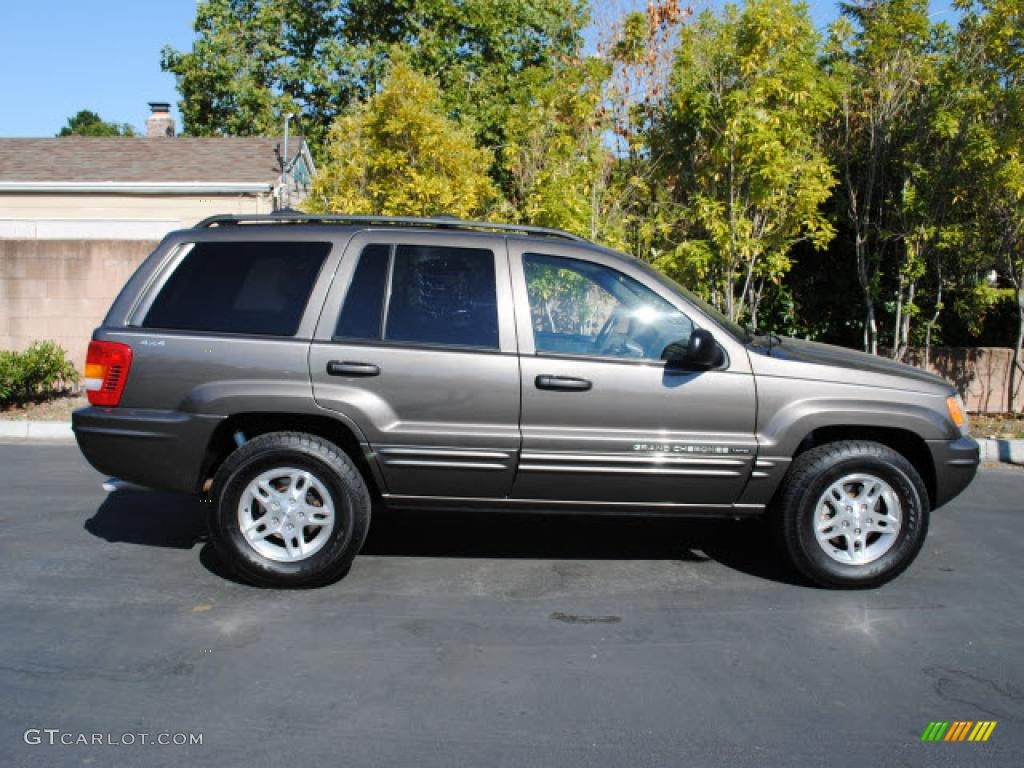 2000 Taupe Frost Metallic Jeep Grand Cherokee Limited 4x4 ...