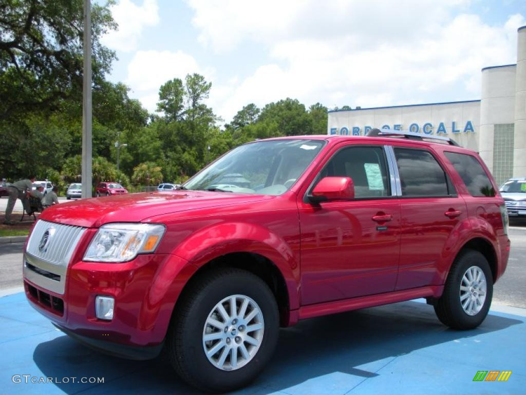 Sangria Red Metallic Mercury Mariner