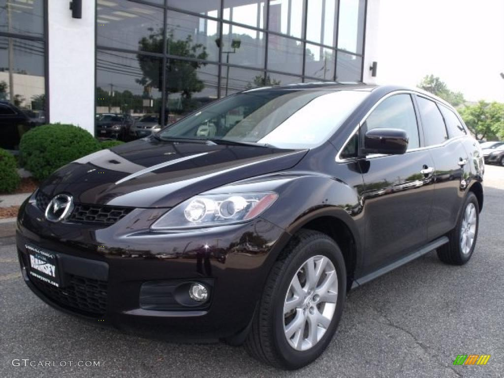2007 black cherry mica mazda cx 7 grand touring 33305920. Black Bedroom Furniture Sets. Home Design Ideas
